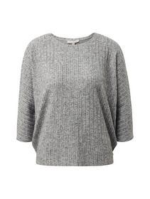 cozy batwing tee - 10367/Light Silver Grey M