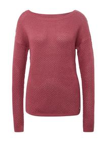 pullover with deep back collar