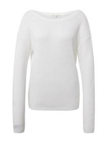 pullover with deep back collar - 10332/Off White