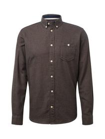 ray grindle shirt - 19441/navy tobacco grindle