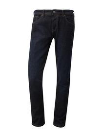 straight AEDAN dark denim - 10136/dark blue denim