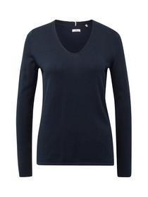 sweater basic v-neck