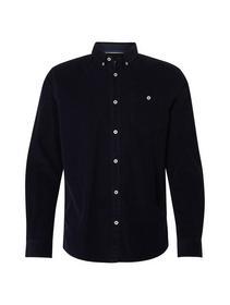 ray cord shirt - 10360/Real Navy Blue
