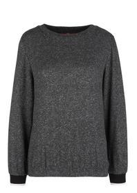 T-Shirt langarm - 9898/black mela