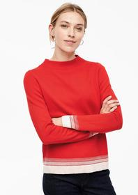 PULLOVER LANGARM - 3071/red