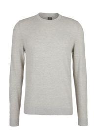 Pullover langarm - 03W0/foam melan