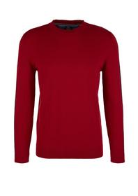 Pullover langarm, Red
