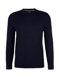 Pullover langarm, Blue