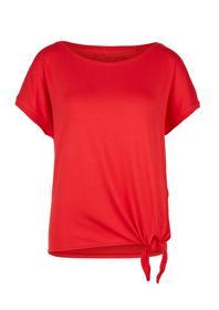 T-Shirt mit Knoten-Detail