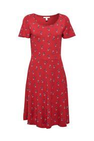 Midi Dress - E610/DARK RED