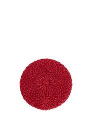 TwoToneCrBeret - E610/DARK RED