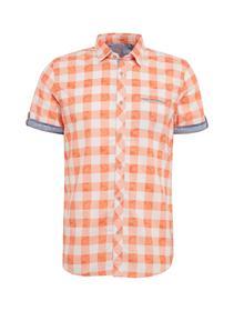 ray watery print shirt Shirts - 3335/fusion coral