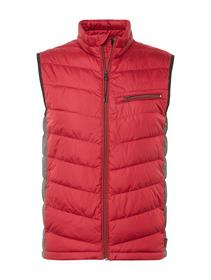 lightweight vest - mat mix Jac, ivy red