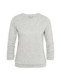 Sweatshirt mit Streifen-Struktur