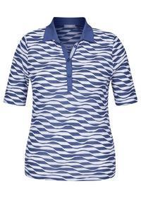 T-Shirt - 351/Rauchblau