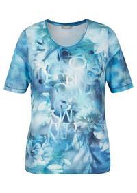 T-Shirt - 391/Jeansblau