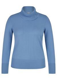Pullover - 398/Mittelblau