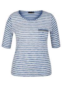 T-Shirt - 364/Rauchblau