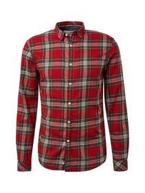 multicolored check shirt - 19876/red multicolor ch