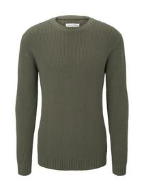heavy structured knit