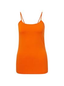 basic strap top - 15824/caramel orange