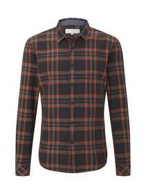 authentic grindle check shirt - 20498/black petrol