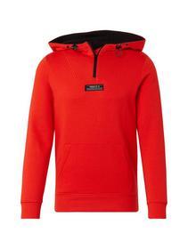 high collar hoody - 12913/Tango Orange