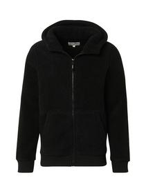 teddy hoody jacket