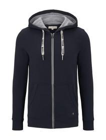 hoodyjacket w. contrast hood