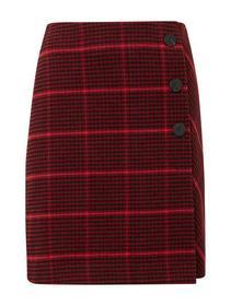 skirt check asymetrical
