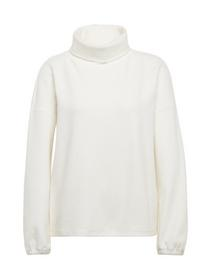 sweater with turtle neck - 10332/Off White