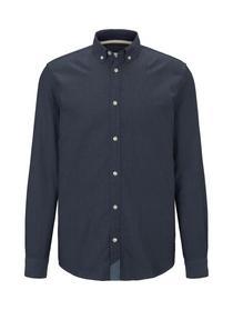 ray smart herringbone shirt