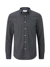 allover printed shirt - 18169/navy white stripe pr