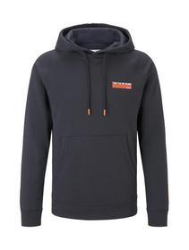 hoodie w. alloverprint