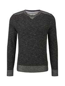 plated sweater