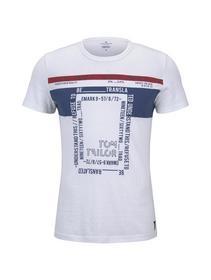 t-shirt with various prints