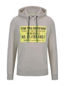 hoodie w. chestprint