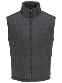 City Vest, Wool Look