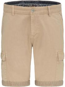Cargo Shorts, Cotton, Garment Dyed - 819/sand