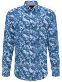 Linen Blend Summer Shirt, 1/1, B.D.
