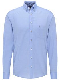 Solid Structure Shirt, 1/1, B.D. - 5001/light blue