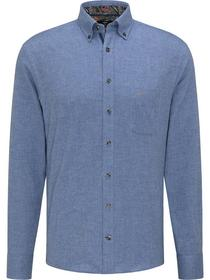 Premium Solid Flannel Shirt, 1/1, B