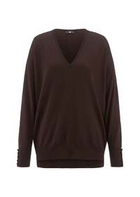 Pullover - 644/onyx brown