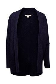 Mit Wolle: Offener Cardigan mit Struktur