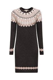 Women Dresses flat knitted midi