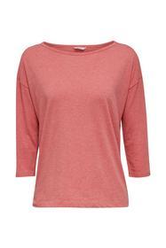 SINGLE SHIRTS CAS NWs.shirt.3/4 - E640/CORAL RED