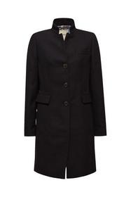 Piquet Coat - E001/BLACK