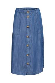 Women Skirts denim midi