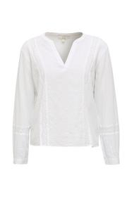 Women Blouses woven long sleeve