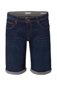 Superstretch-Jeansshorts im Used-Look